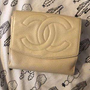 Chanel wallet re-dyed
